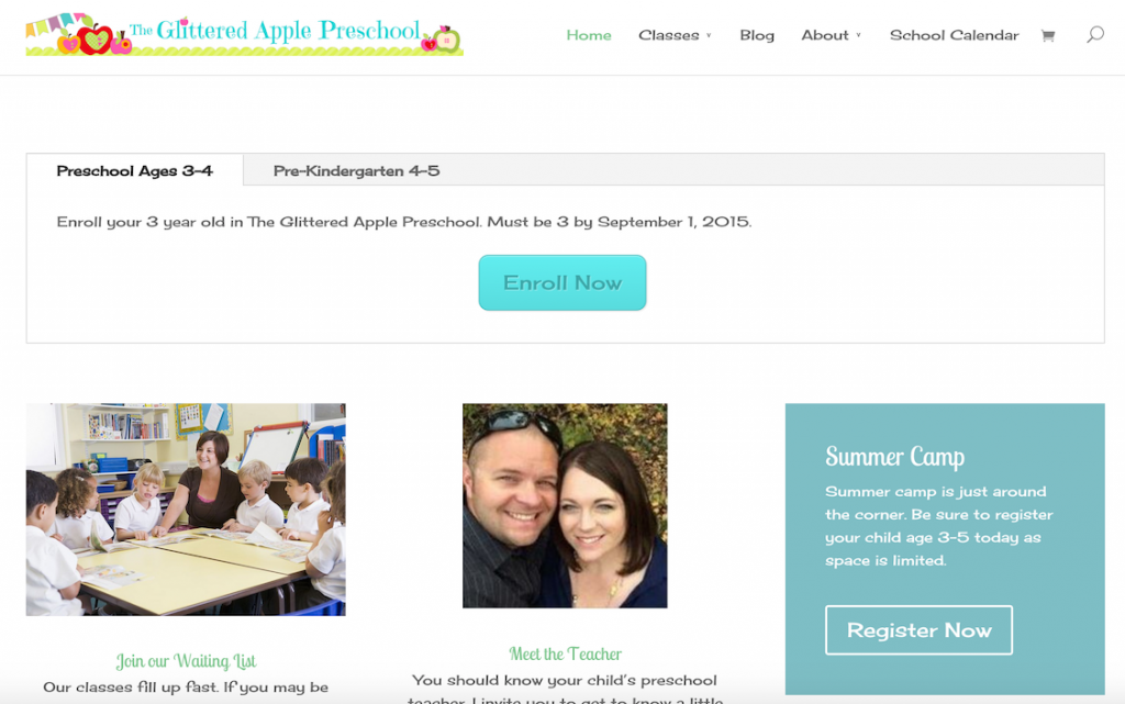 The Glittered Apple Preschool in Herriman UT