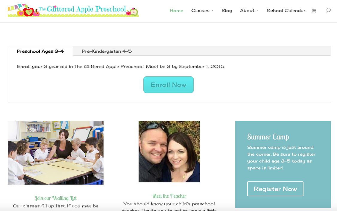 The Glittered Apple Preschool – Herriman, UT