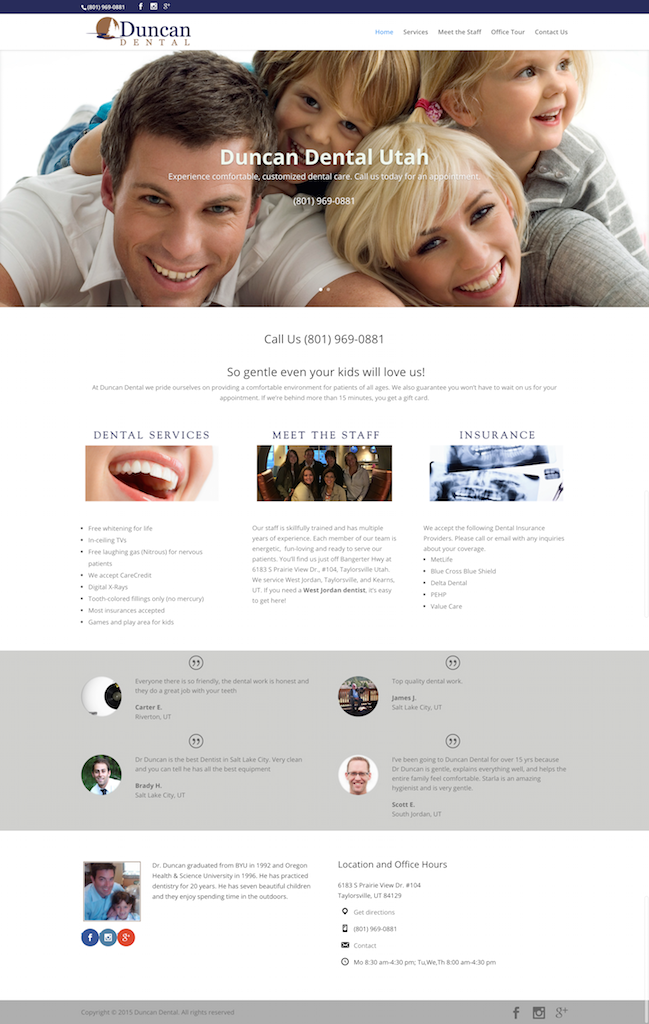 Duncan Dental – Salt Lake City UT