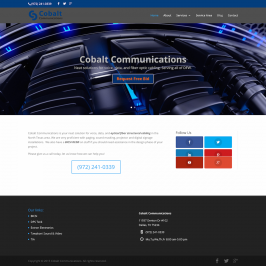 Cobalt Communications – Structured Cabling Contractor